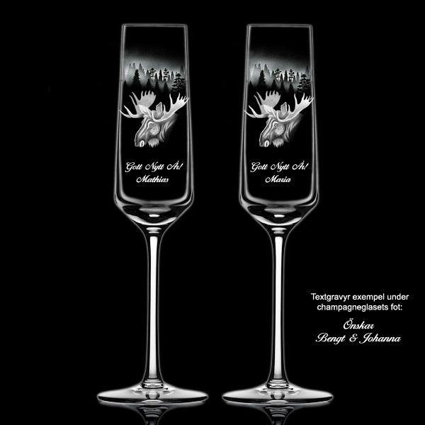 Champagneglas Amore 10 st