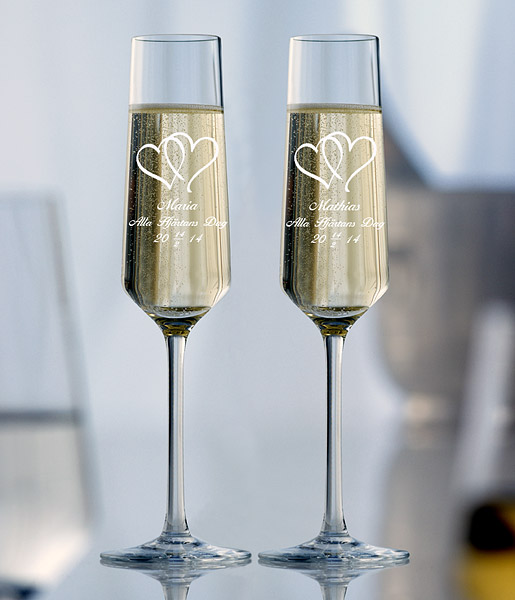 Champagneglas Amore 2 st